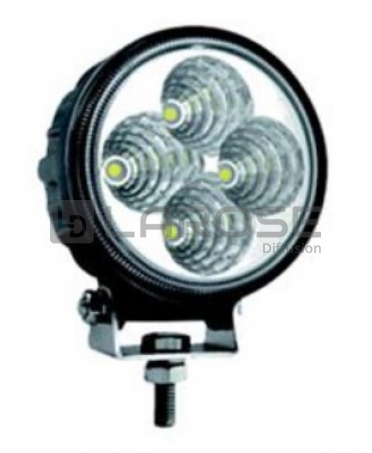 Phare de travail 4 leds 9/32 Volts 900 lumens