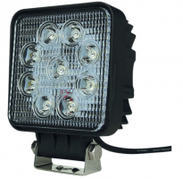 Phare de travail 9 LEDS 10/32 volts 1800 lumens