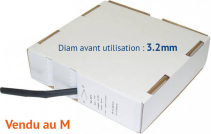 Gaine thermorétractable diam 3,2mm (au M)