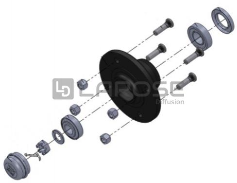 kit moyeu non frein complet roulements coniques vente de pi ces d tach es et accessoires pour. Black Bedroom Furniture Sets. Home Design Ideas